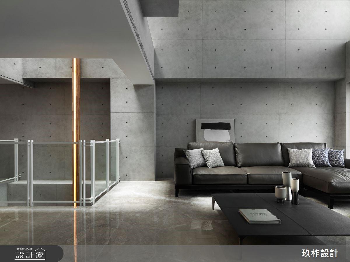 豪宅簡約生活美學,清水模的灰境質感與光影律動