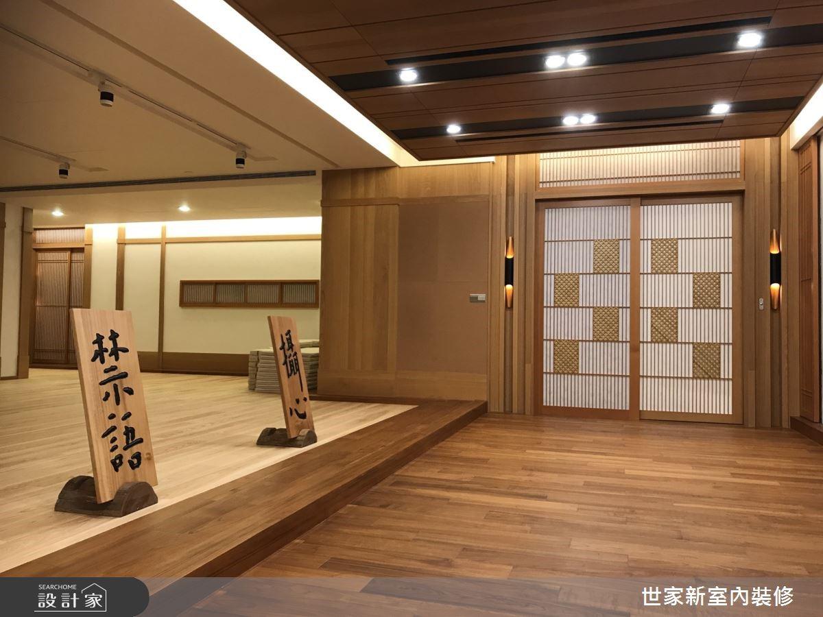 暖木氛圍、舒適光線,塑造百坪靜心禪修會館