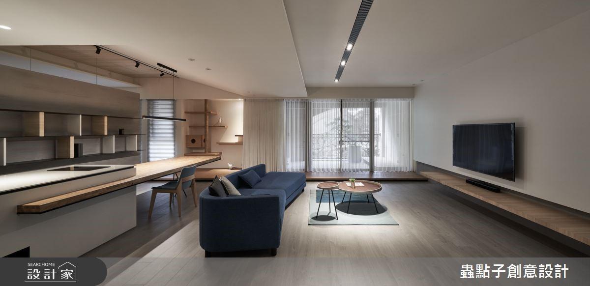 把昏暗的家變明亮!格局調配得宜,都市住宅也能有北歐感的陽光走廊