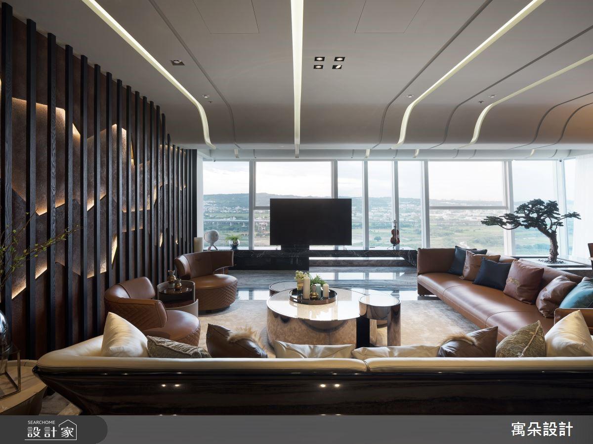 在家也能享受自然山水美景! 精緻工藝訂製新中式風豪邸