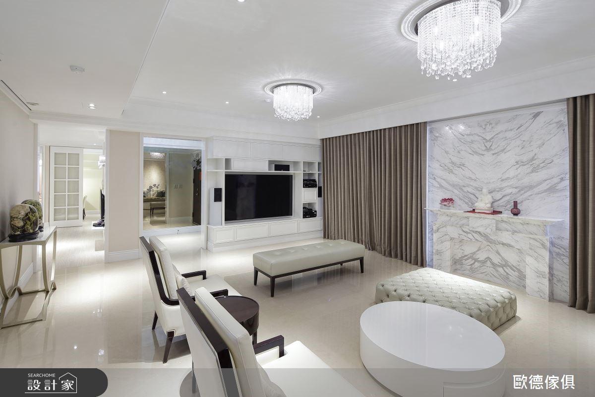 過敏女屋主的夢想成真!靠系統家具將老屋翻新成新古典美宅