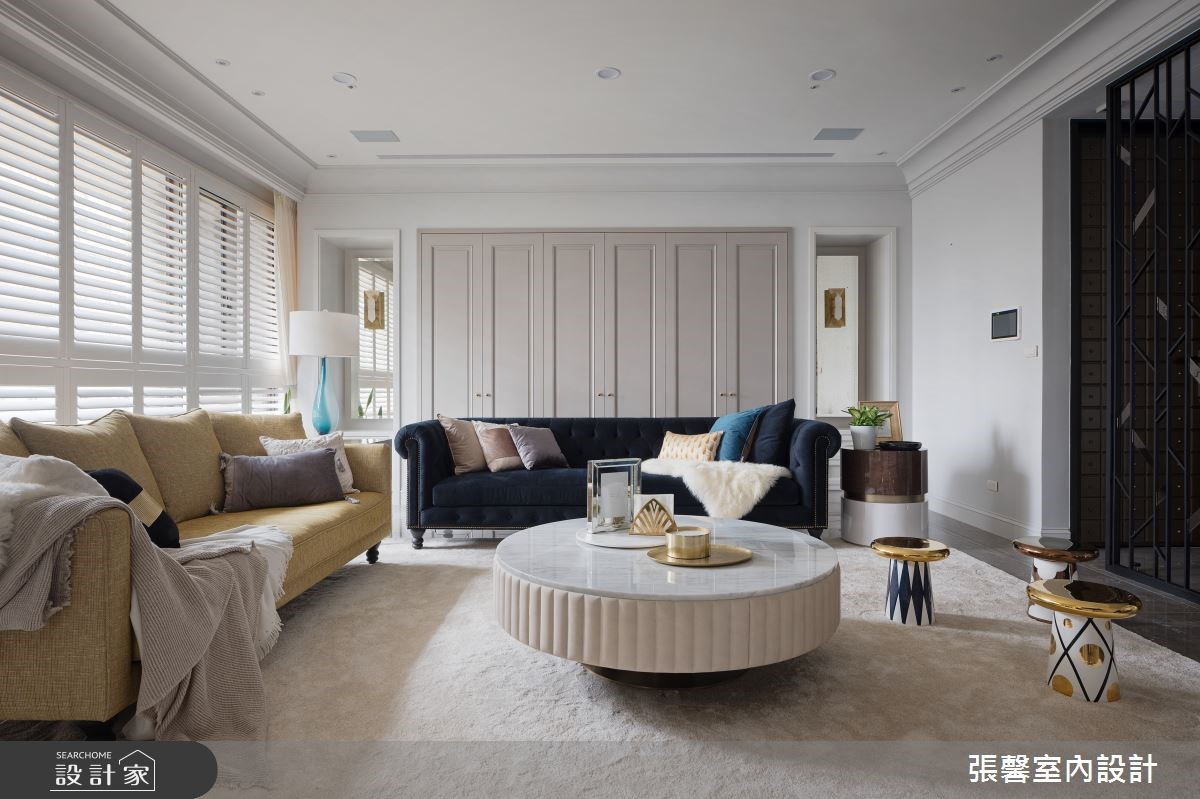 用綠意輕綴精品飯店質感!現代美式的輕奢華 + 微熱帶度假感豪宅