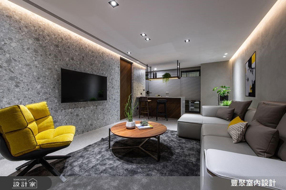 兩個客廳+美形收納!現代風新婚大宅幫你圓夢