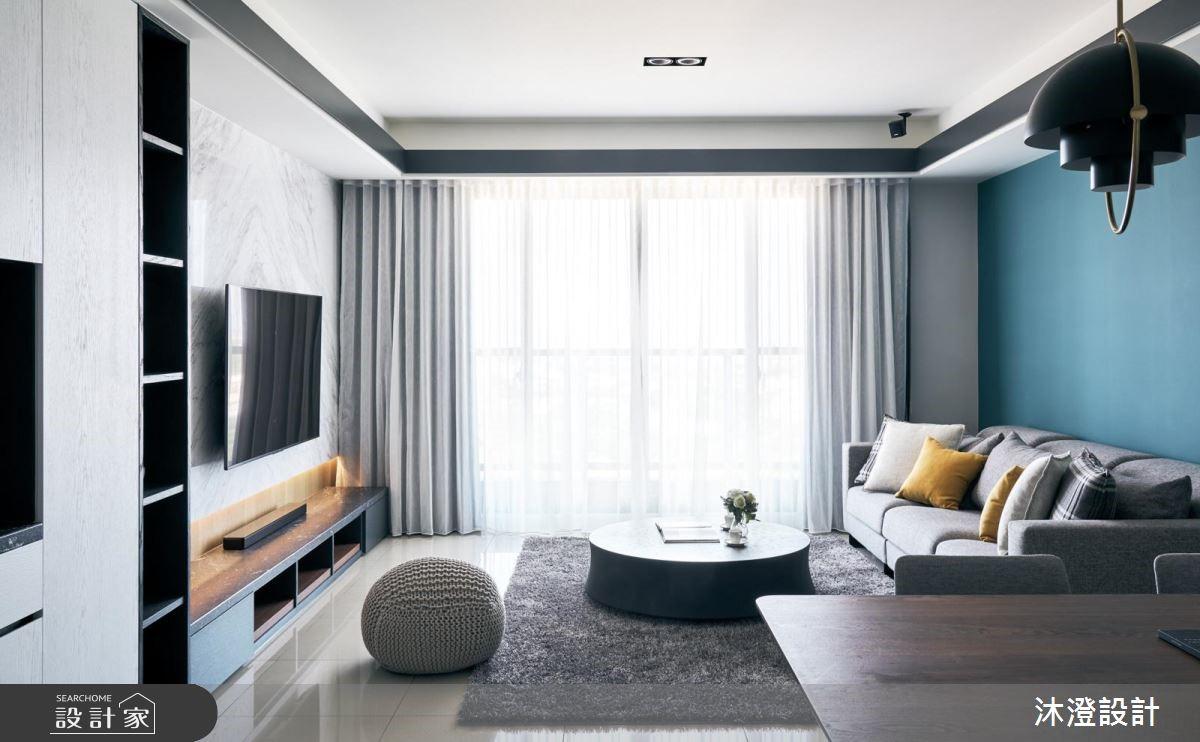 53坪現代風家庭宅,用材質與色系讓舒服氣息慢慢靠近!