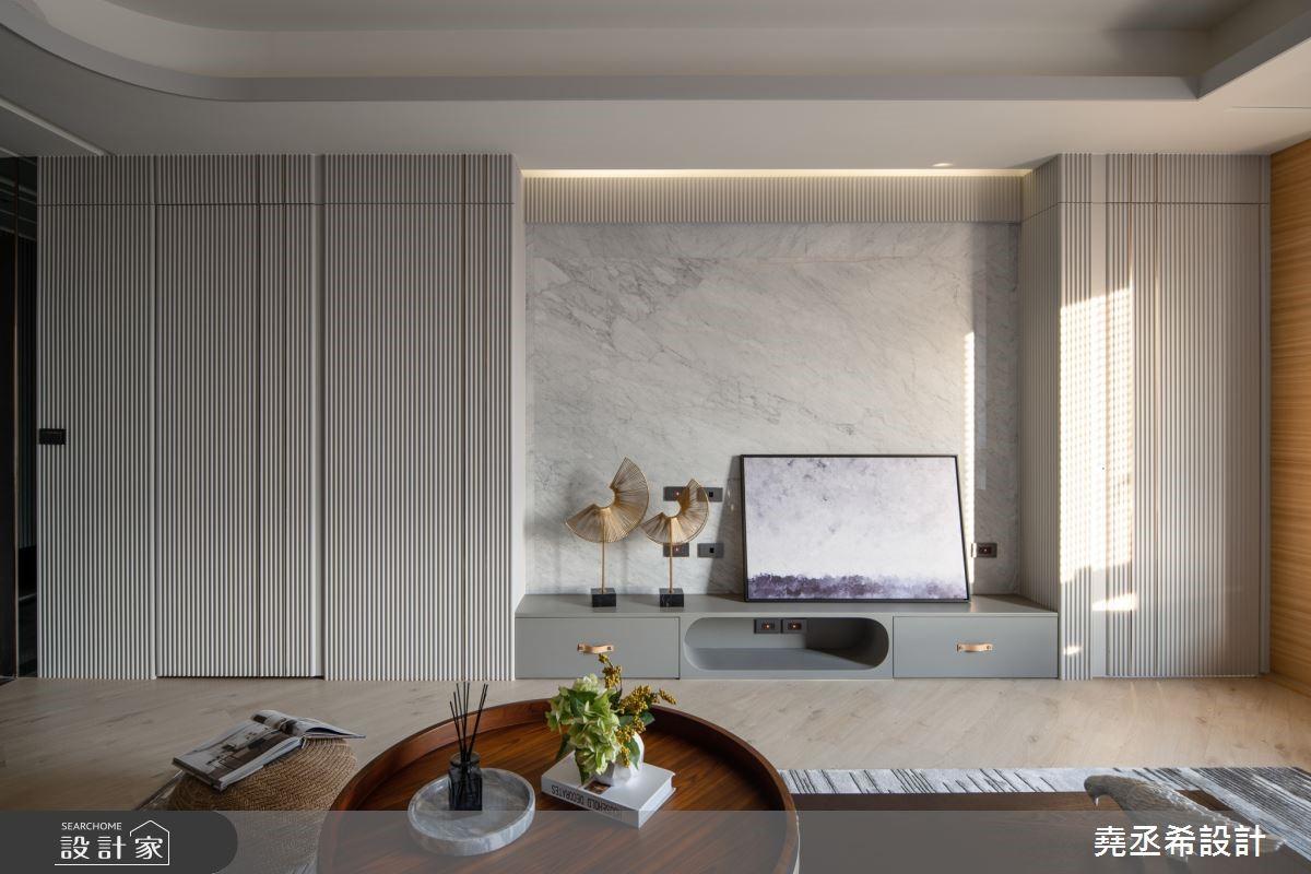 清新無限、迷人加倍!45坪輕奢華現代宅的完美呈現