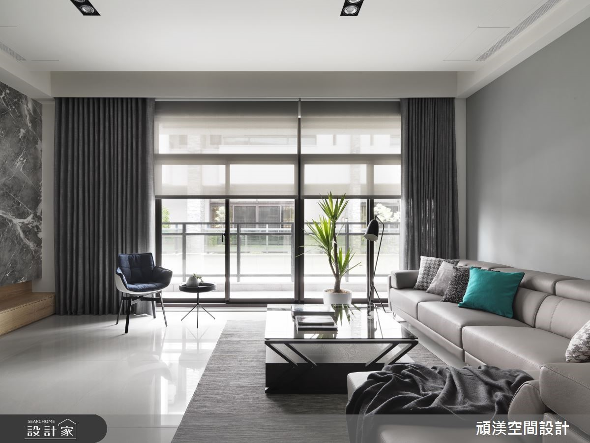 以灰階敘寫時尚感,許你一室靜謐美好的現代風透天好宅!