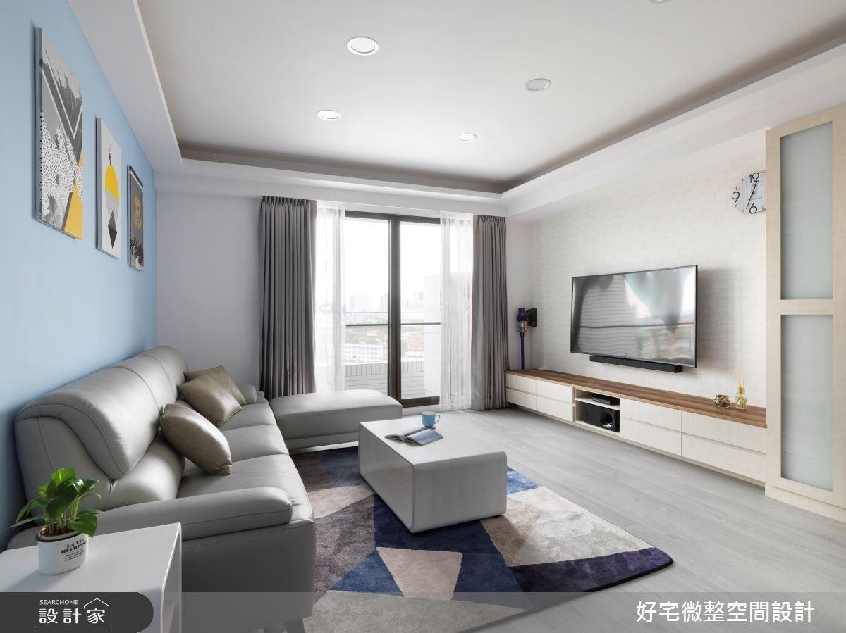 寬鬆感與高機能完美平衡!25 坪輕透北歐宅收得恰到好處