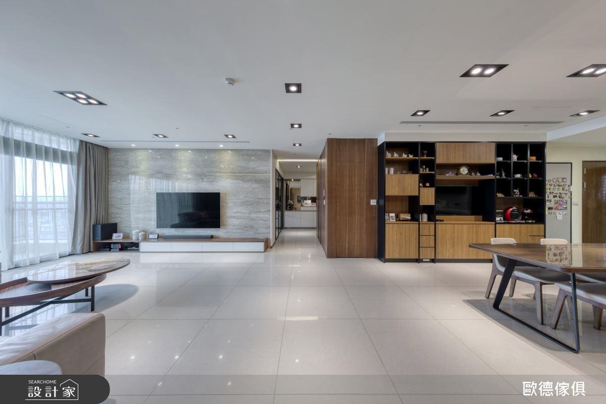 令人驚豔的質感系統家具 混搭三代同堂幸福雙拼宅