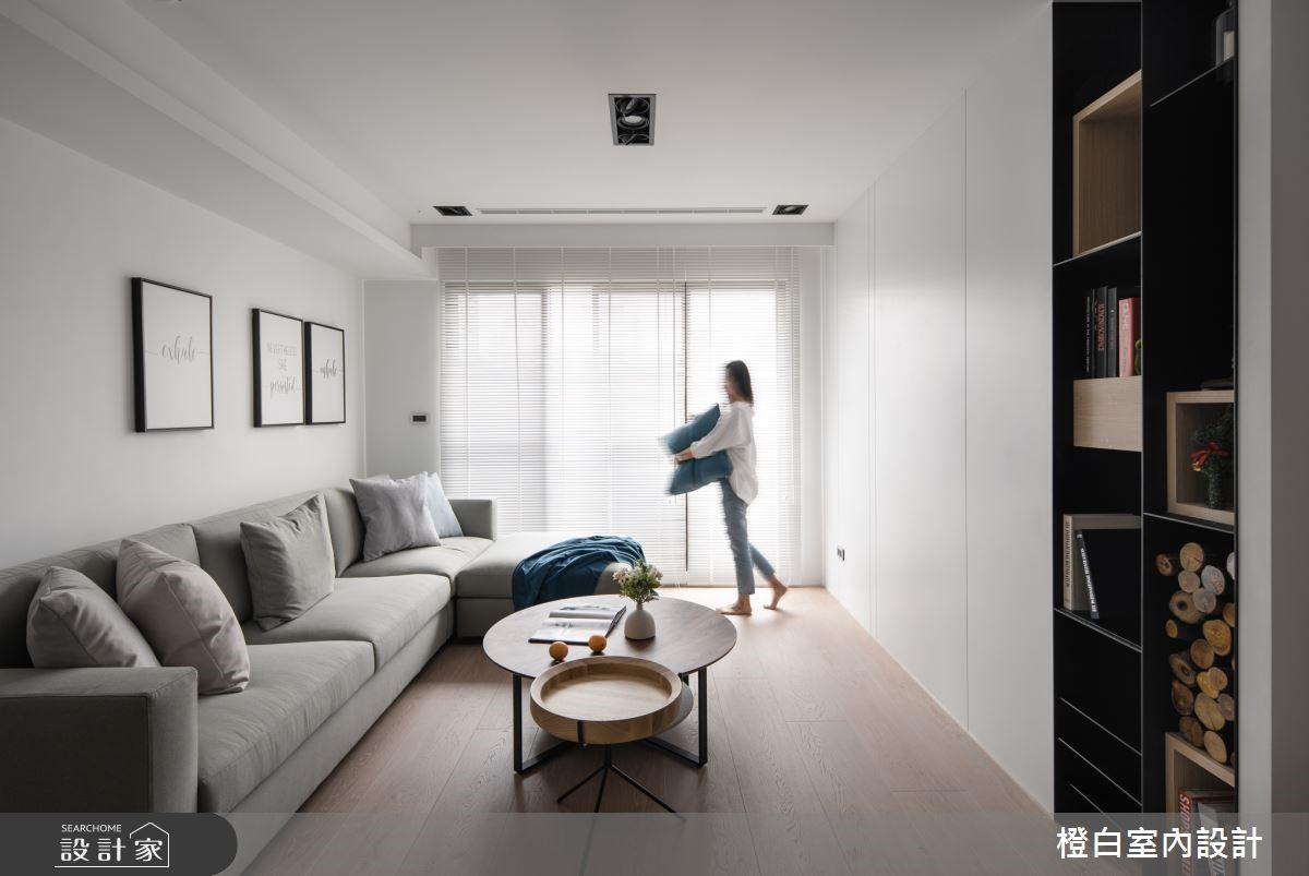 黑板牆 + 陽光臥榻!30坪隱藏式收納機能宅,一家4口都能擁有專屬空間