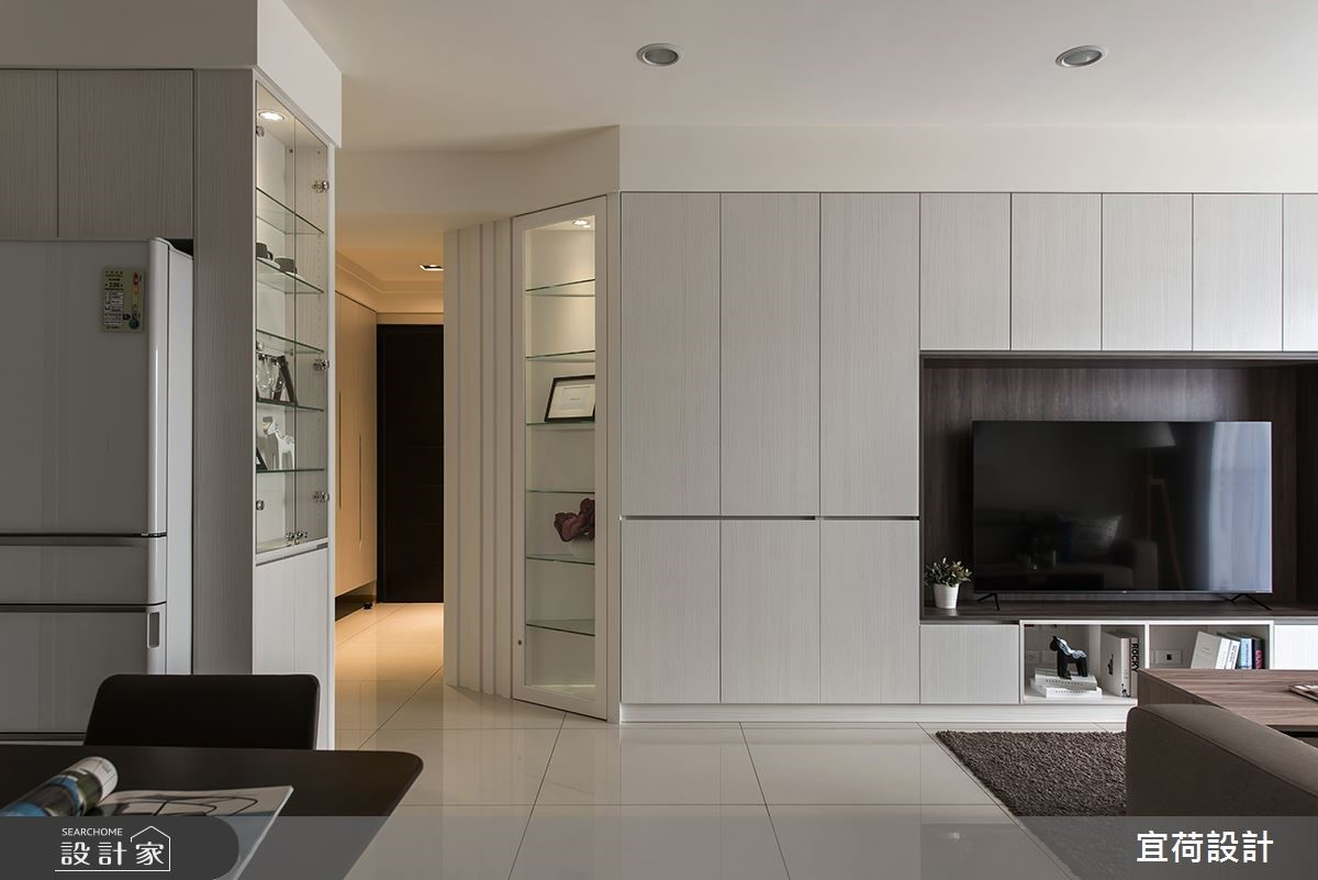 廚房門位移、洗手台再加一!簡練現代宅風水機能全到位