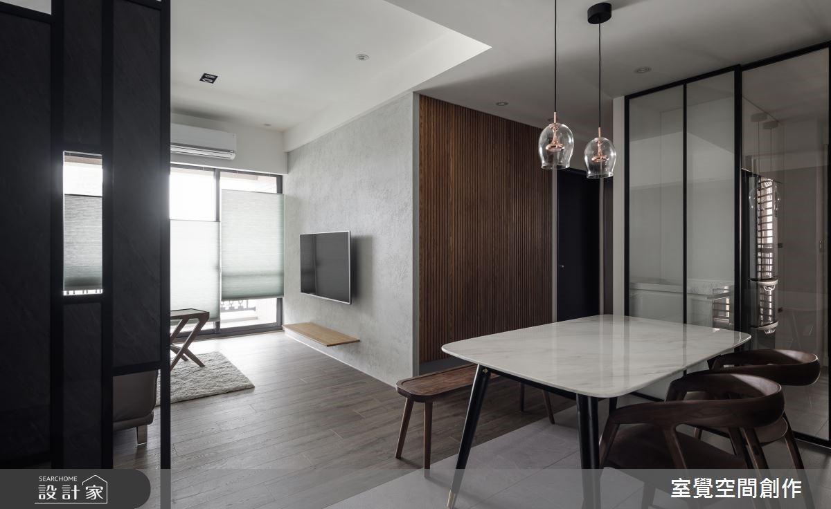 打造 15 坪絕美成熟系小宅!極簡灰階、沉穩木質原來很重要