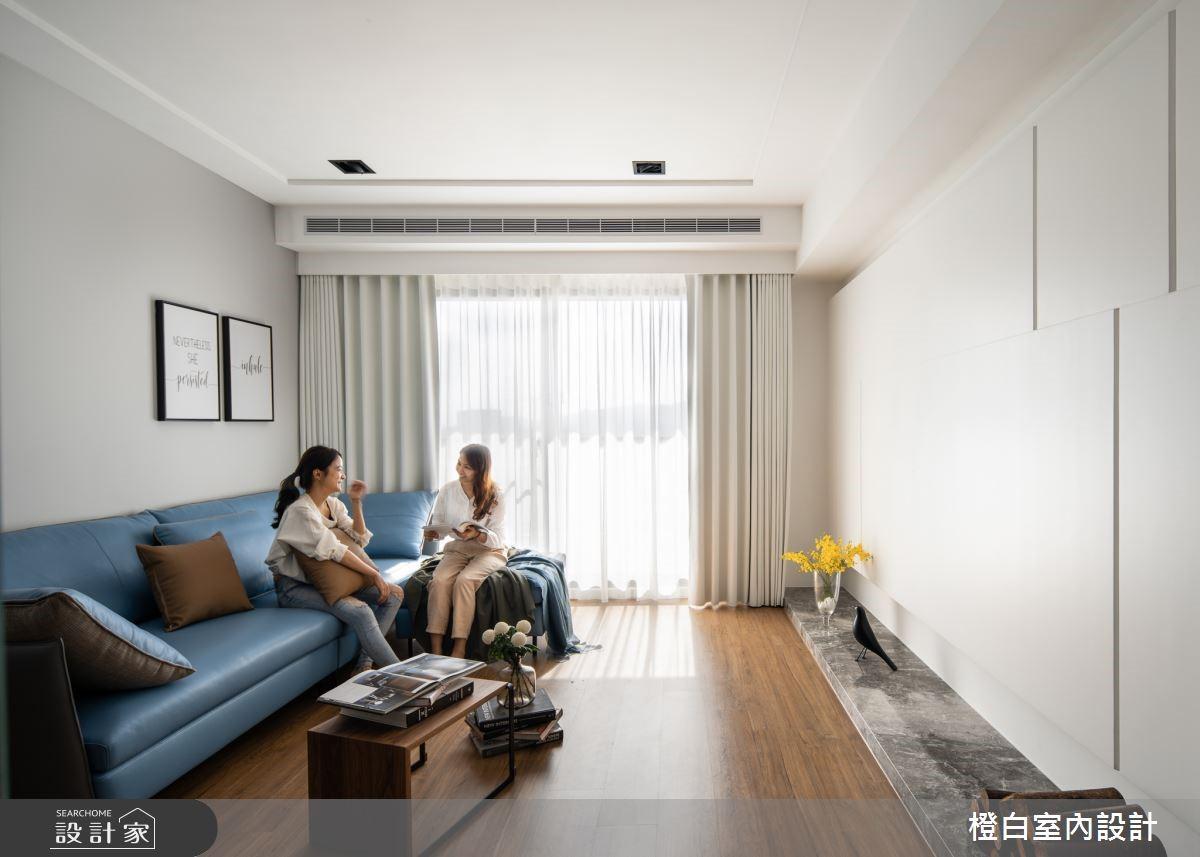 我家就是咖啡館!32 坪木質感宅有陽光玻璃書房、彩繪白板牆