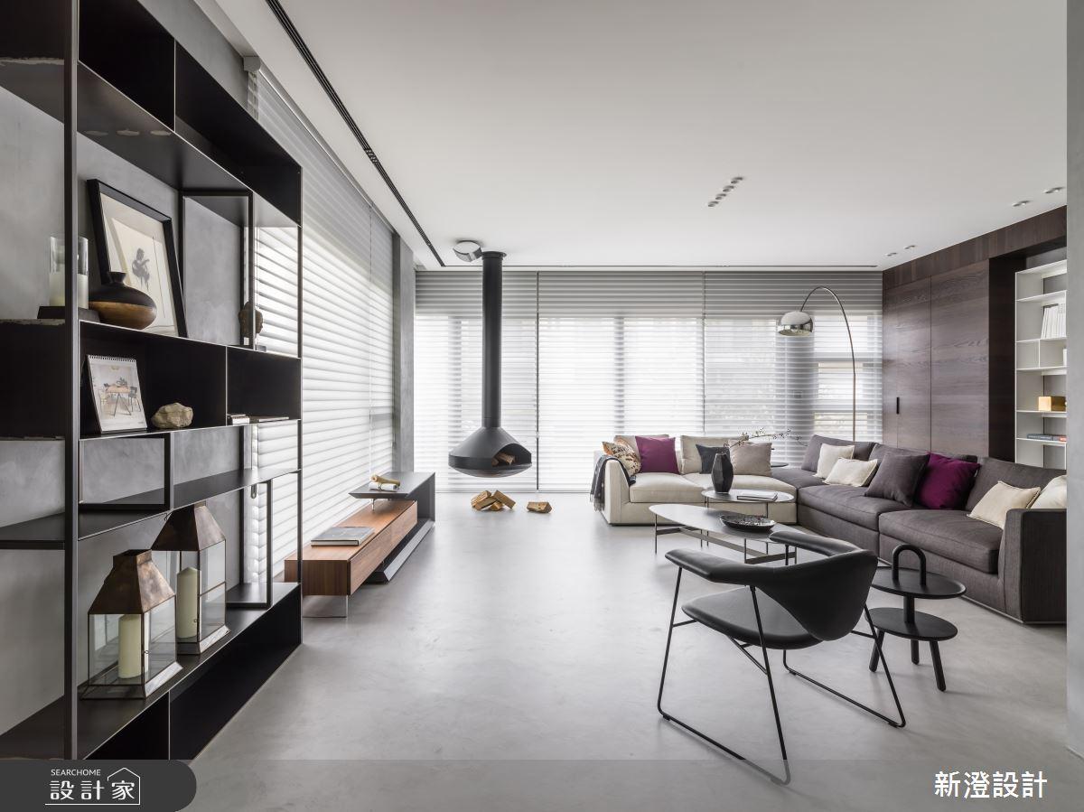 體現歐美雜誌裡的經典空間!百坪別墅用北歐設計思維將生活與藝術緊緊黏貼