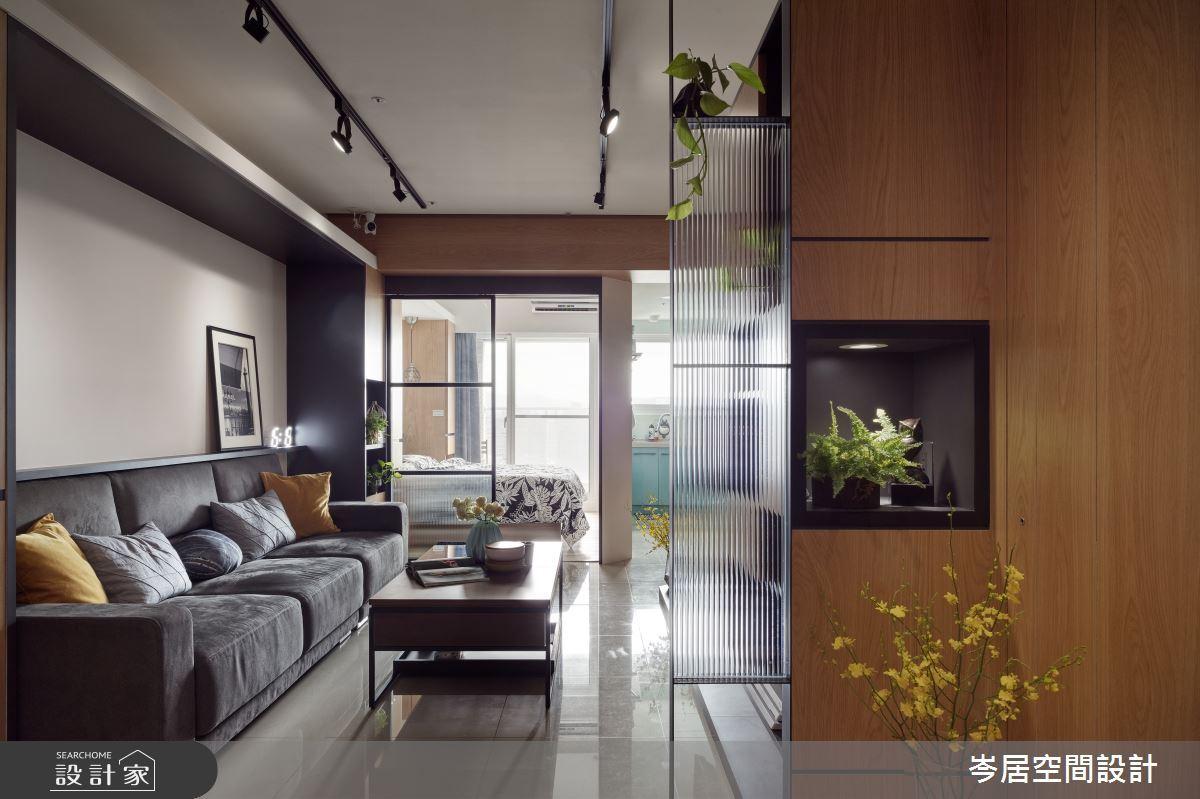 小空間的大滿足!18 坪現代居家打造風格視野