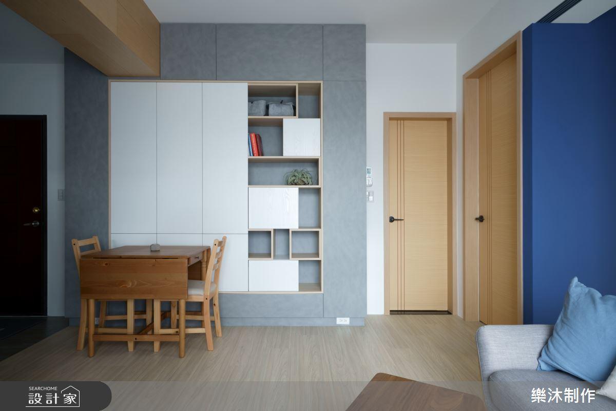 穿透設計搭上靈活收納!小夫妻北歐宅好住、好收、好清爽