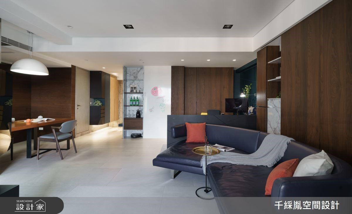 34 坪老屋翻新變身輕工業簡約風,改造後還有飯店級超大浴室!