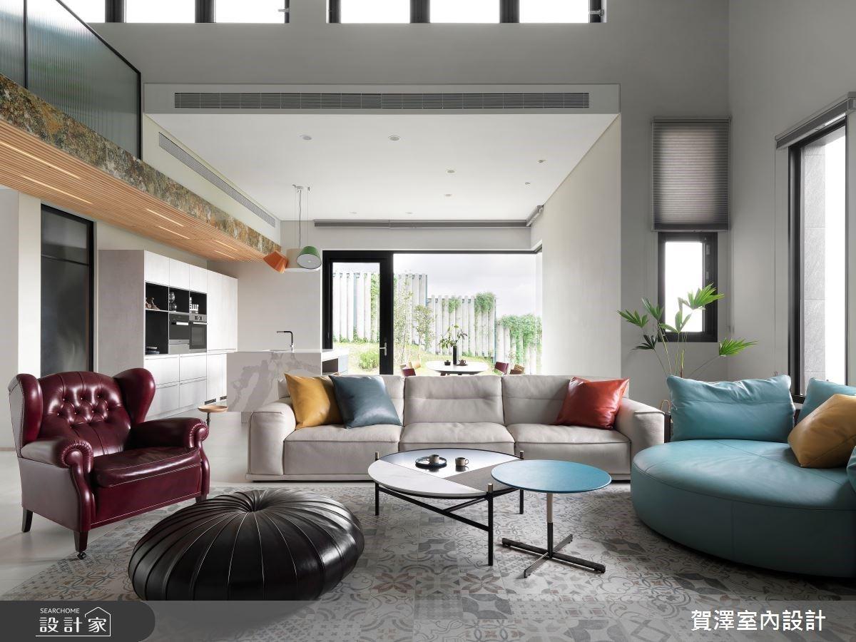 把最美風景留給心愛的家人!自然且流動的自地自建現代風尚宅邸