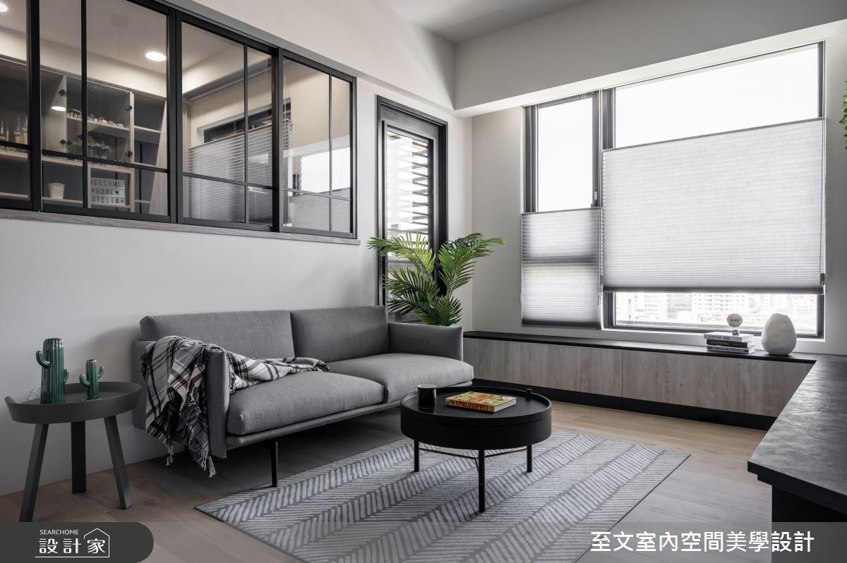 一個人的清新簡約北歐風,光感透明系 11 坪單身女子公寓