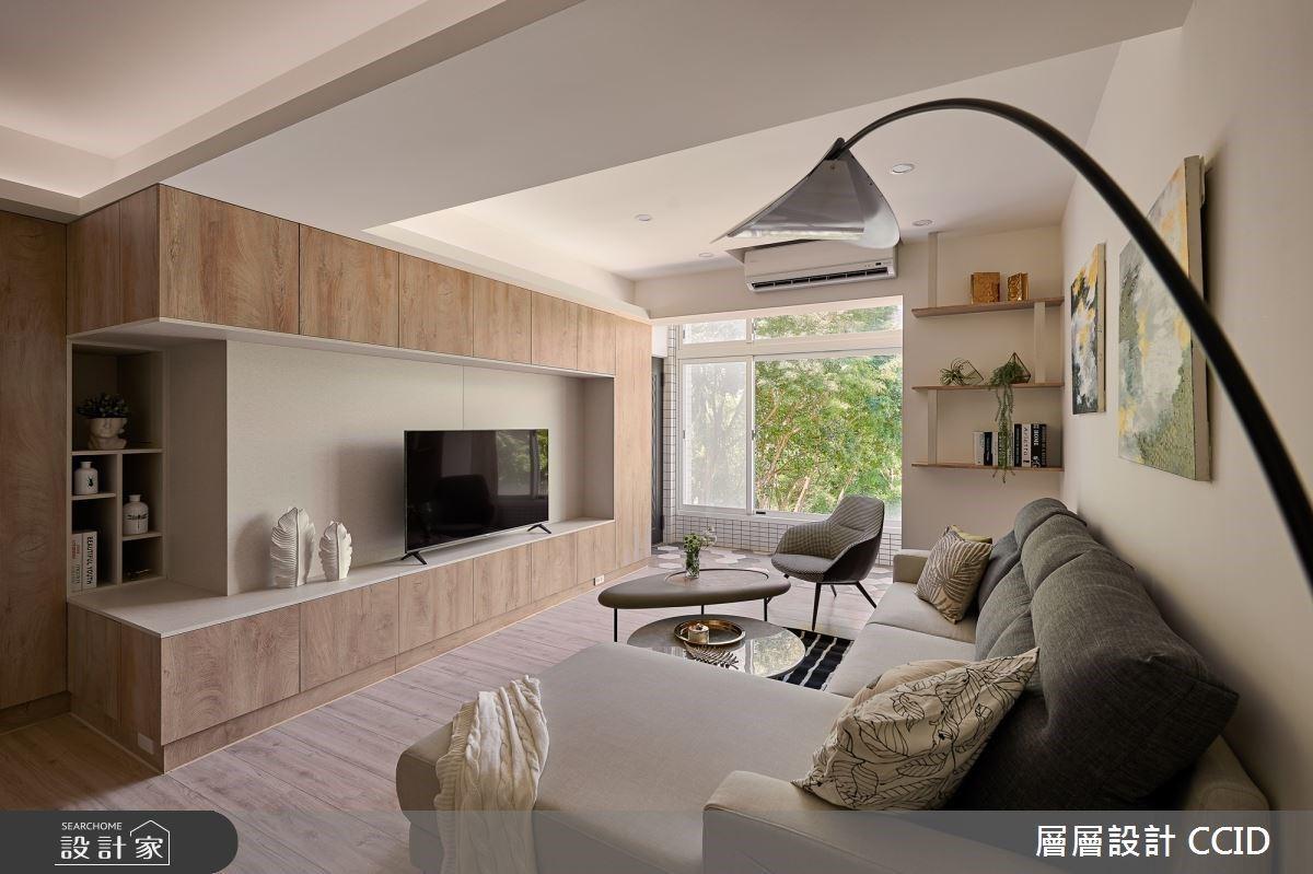 誠意十足的老屋翻新!在北歐風好宅與綠意、採光共舞