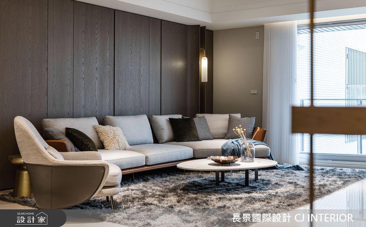 沉穩色系與天然質材交織,詮釋 80 坪海景豪宅別墅的人文意境