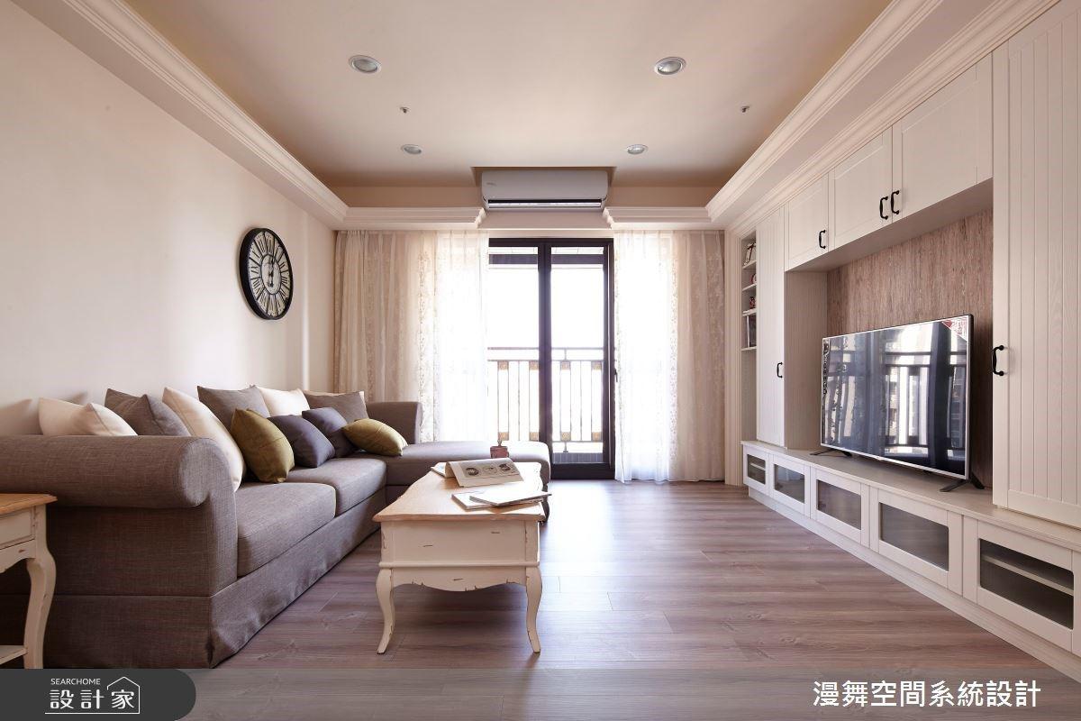 活用系統家具 混搭出鄉村與古典質感的風格家屋