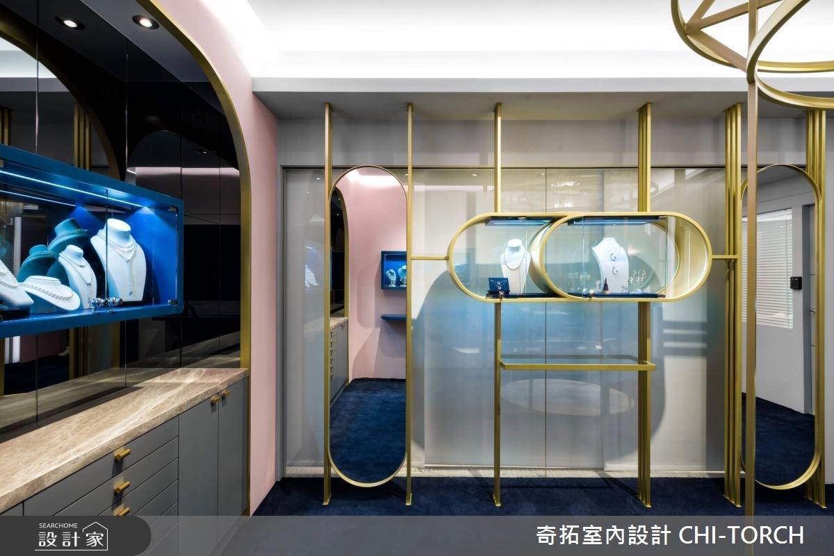湛藍大海的女神系設計,演繹尊榮時尚的法式綺想珠寶店