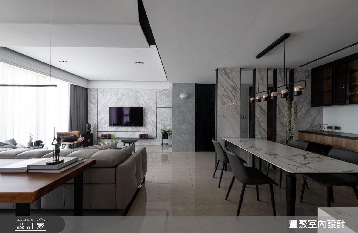 開放廚房+原木質感書房 營造簡約時尚家屋氣度