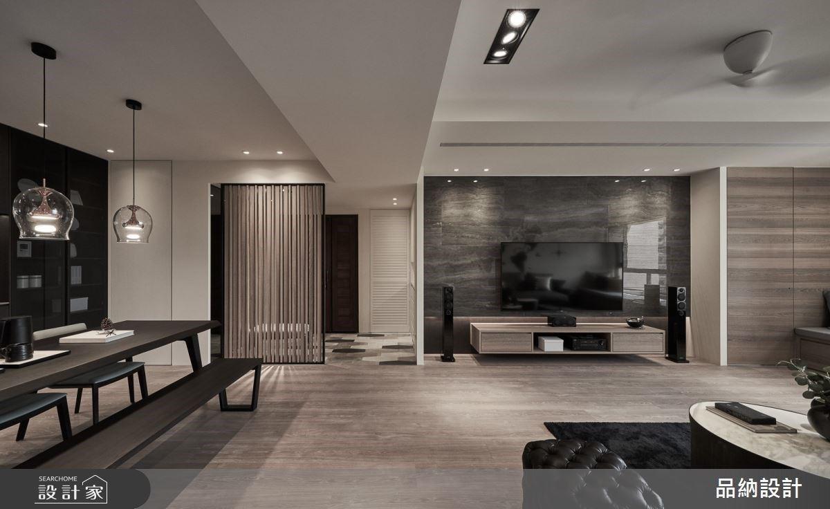 大地色系的內斂之道!微調格局、暖木棕色調讓 50 坪老屋翻新成時尚現代宅