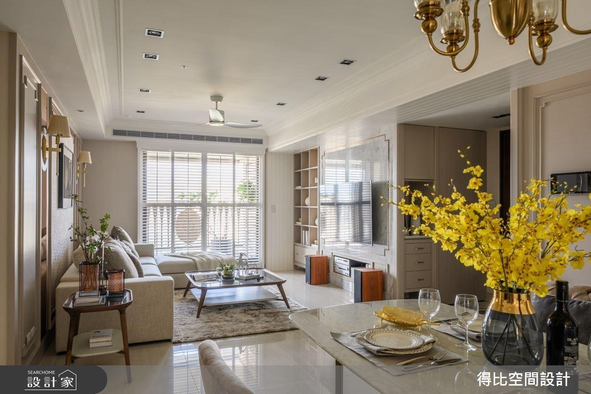 重溫專屬兩人的純粹生活!美式新古典住宅量身訂製雙更衣室、香檳金健身房