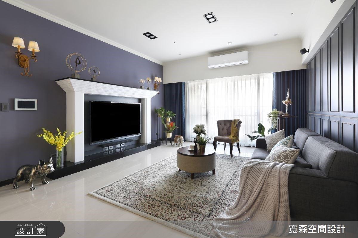 將歐洲蜜月場景搬到我家!深色系、木質調帶你感受 65 坪法式公寓的時尚與優雅
