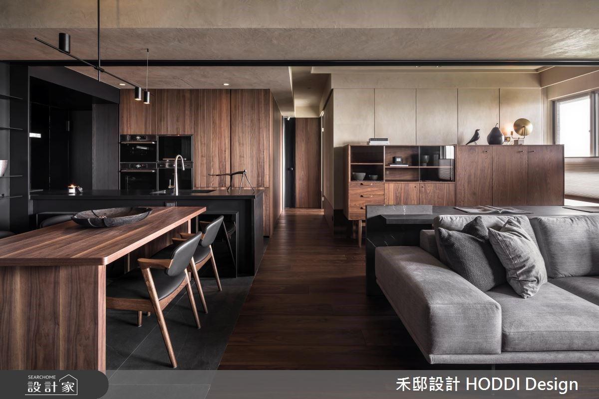 當現代設計遇上復古家具!刻劃出沉穩豪邸內斂書卷氣