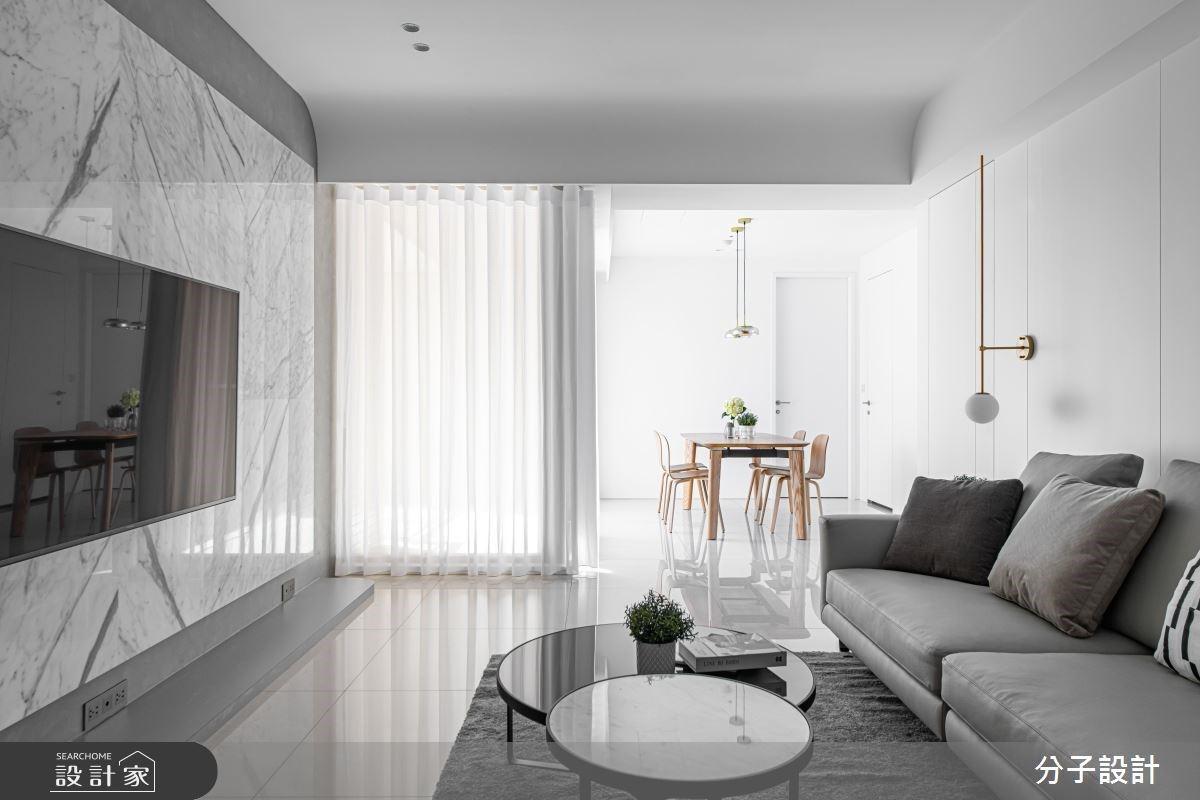 白色美學本質!清爽無極限的現代風暖宅