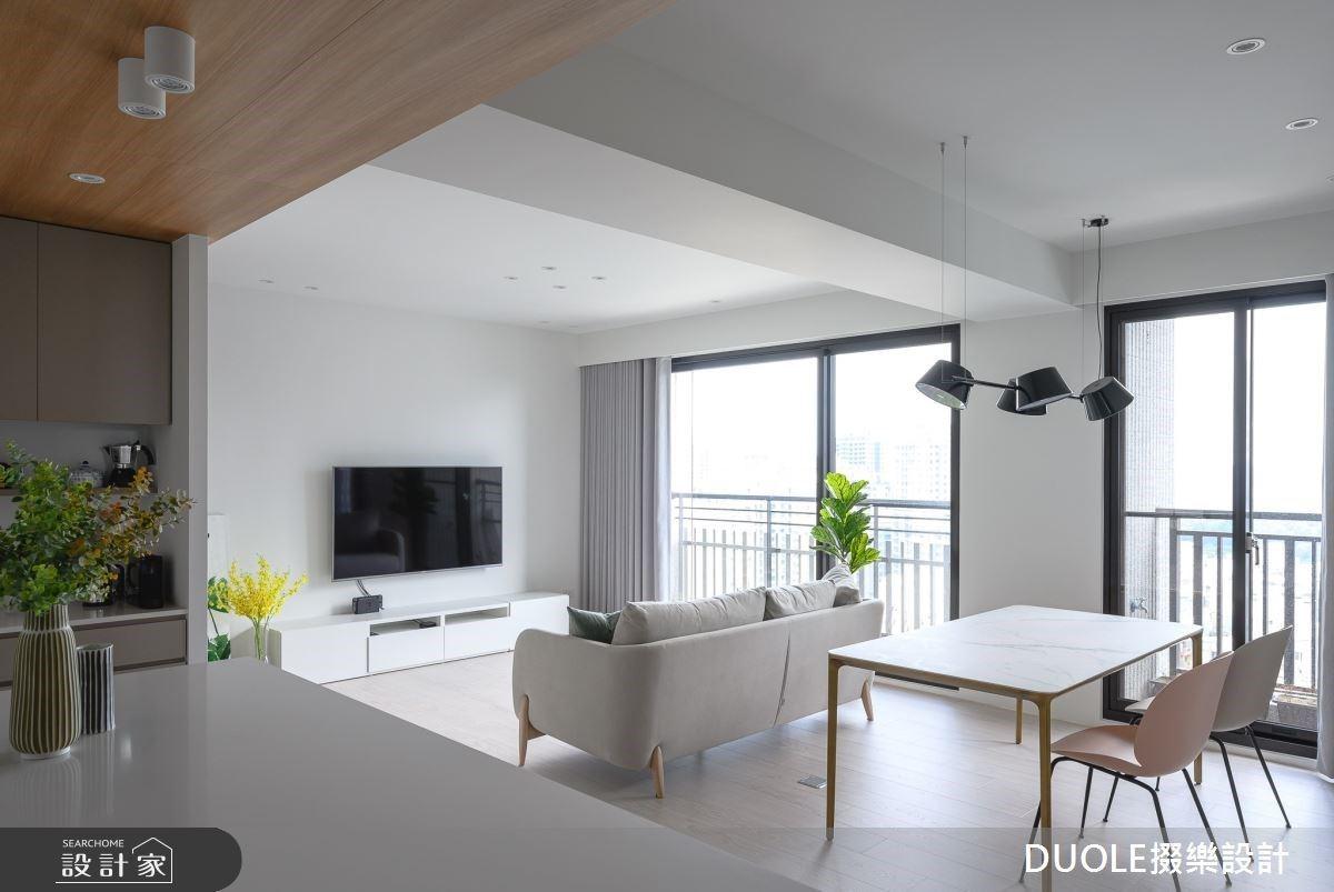 量身訂製你的家!淨白北歐風打造最大空間感