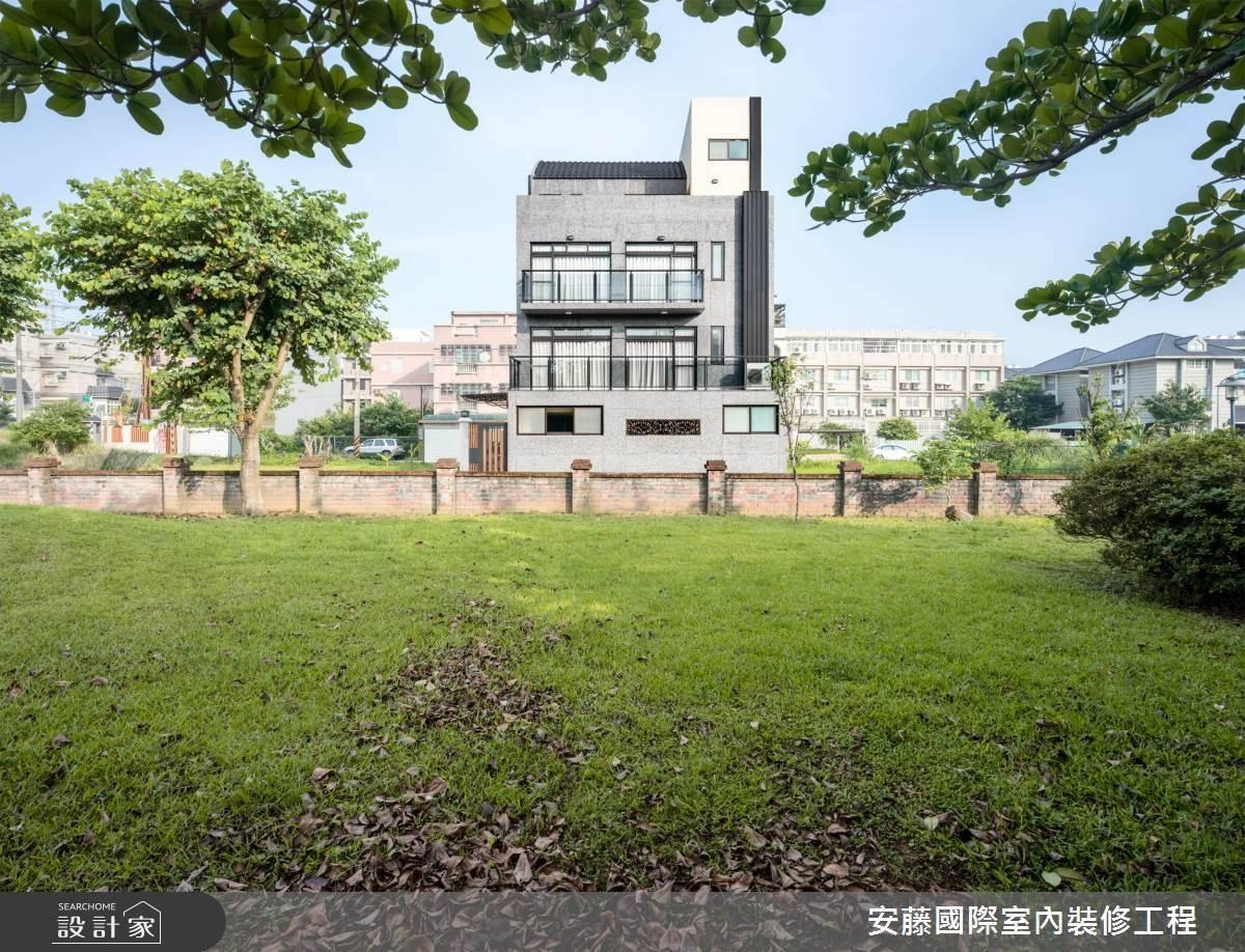 自地自建豪宅別墅!俐落線條呈現包浩斯建築的現代之美
