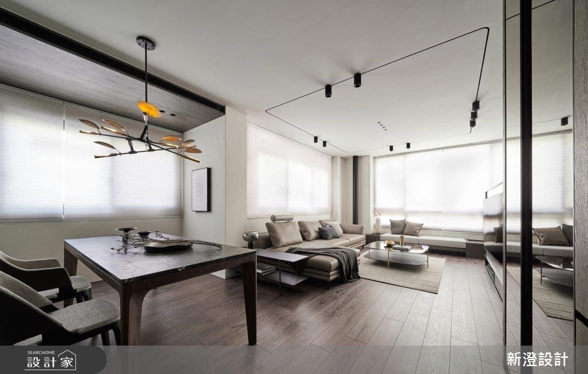一個人獨享 38 坪輕奢美宅,單身也能過得優雅而自在
