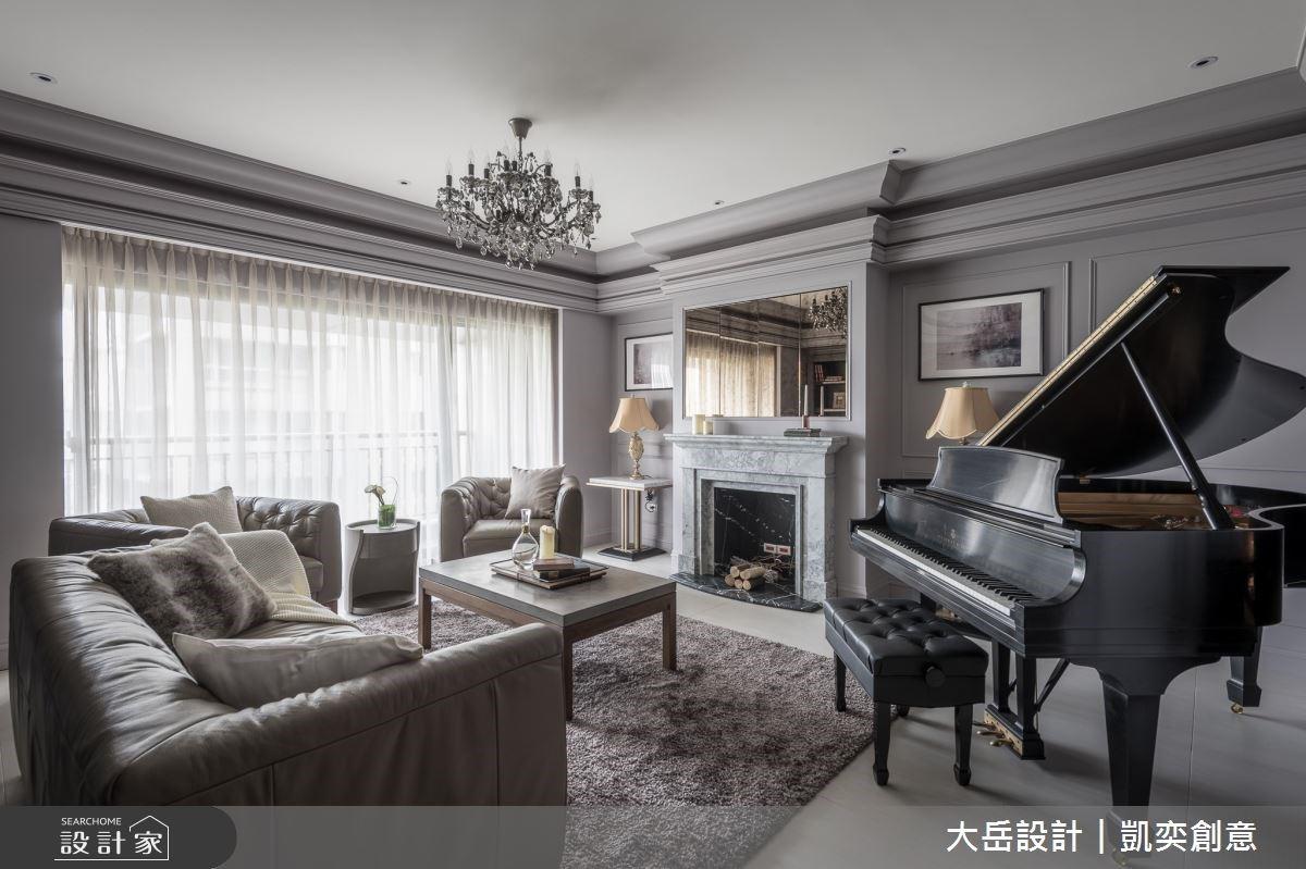 精巧細緻的生活品味!淡雅紫打造你的新古典精品宅