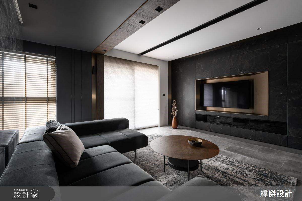 T 字型中島的天倫之樂!36 坪現代風親子宅擁有 5 房的輕鬆