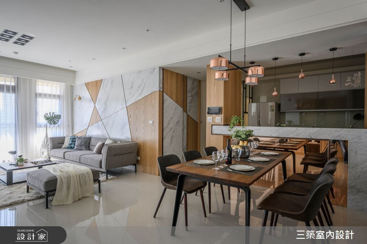 大器與細節的總和!異材質打造你的現代風美宅
