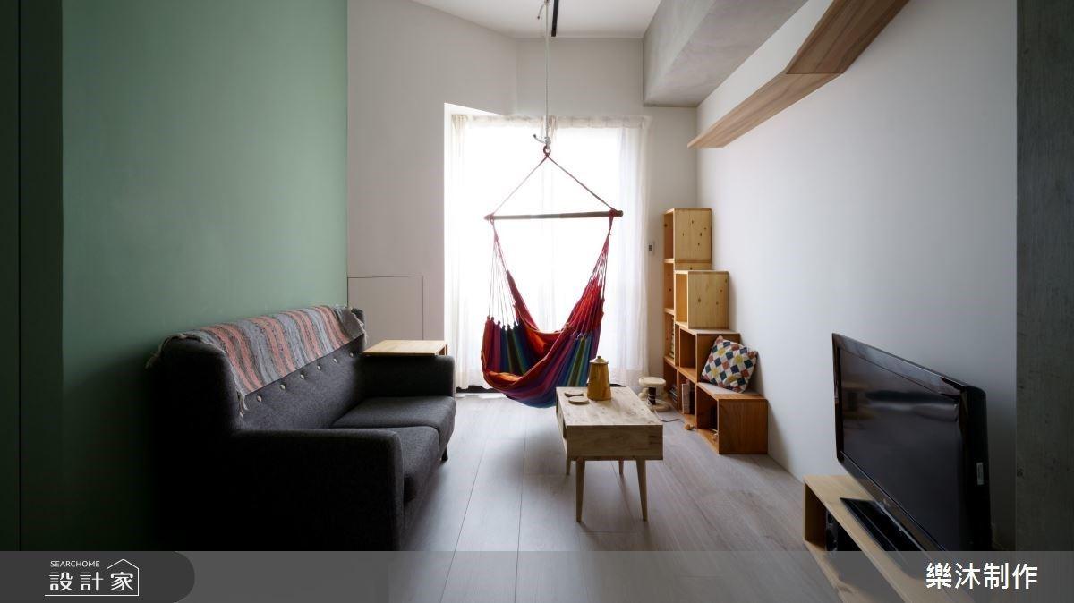 別被 10 坪限制了想像!吊床取代沙發、電視櫃變貓跳台開創小宅無限潛力