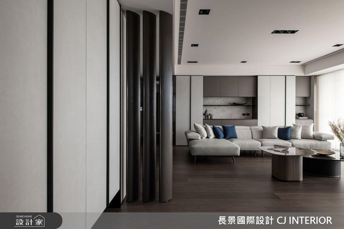 簡約優雅現代風!百坪豪宅的低彩度高貴質感