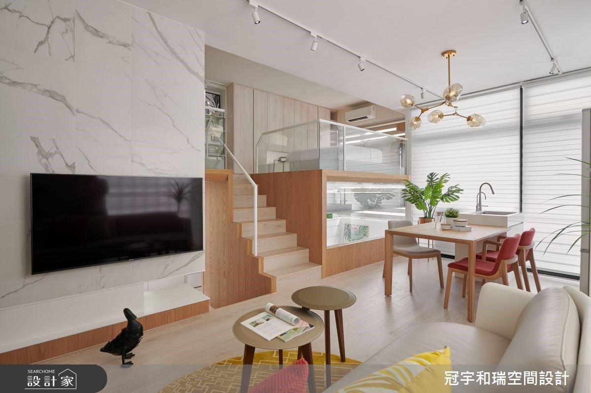 2個房間+開放廚房!11坪小坪數神乎其技超機能
