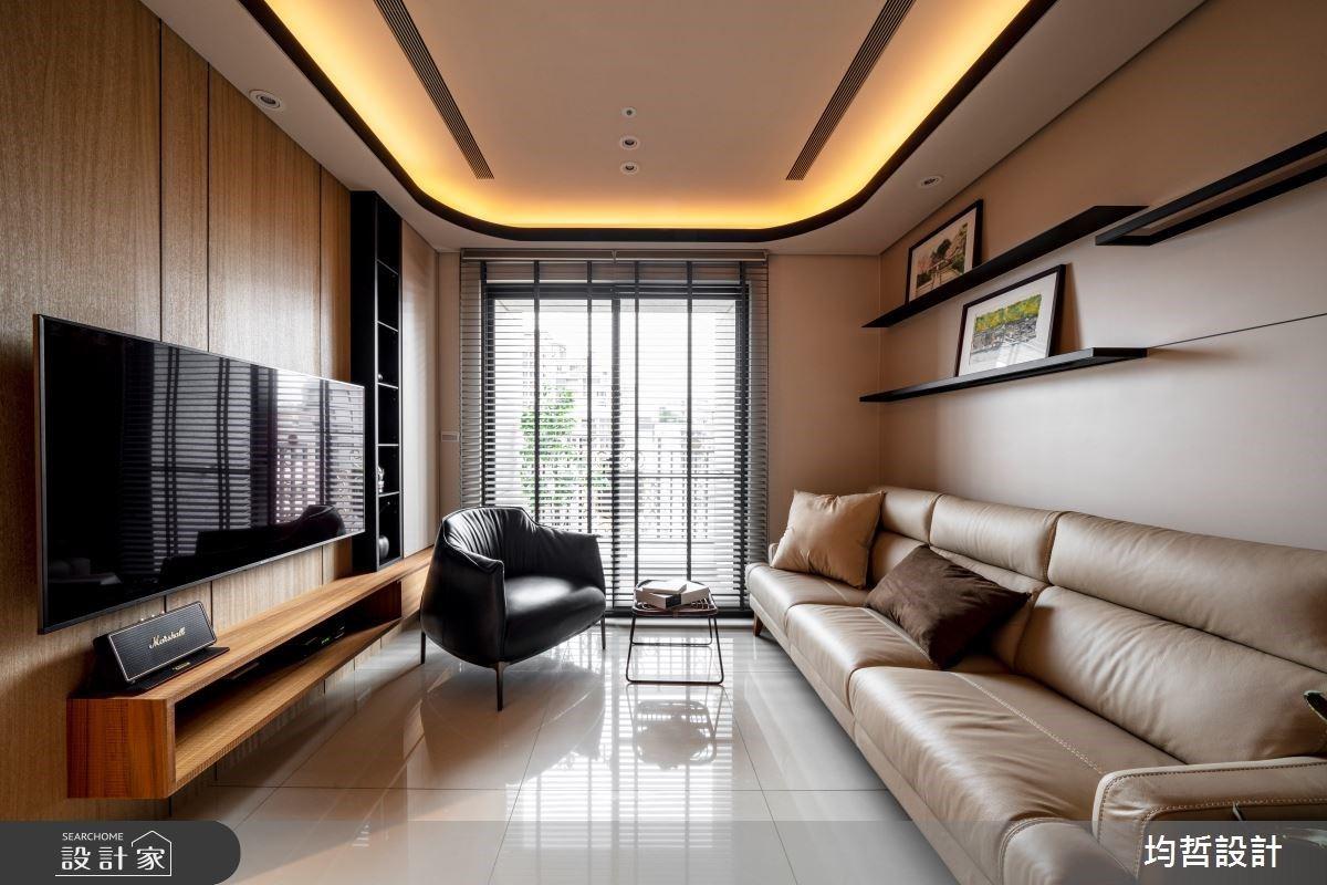 空間感、區域性兼具!適合獨處與相聚的木質單身宅