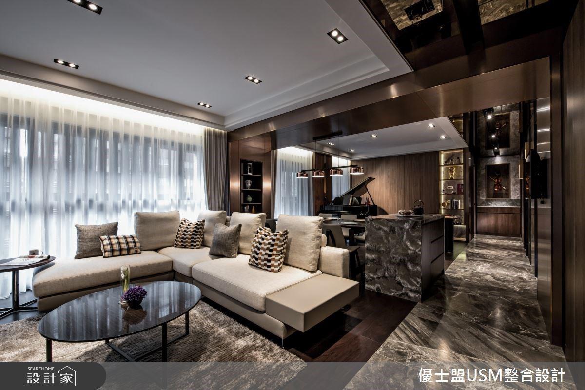 回家就像住在精緻飯店裡!異材質堆疊與美學靈感譜寫舒適沉靜雅居