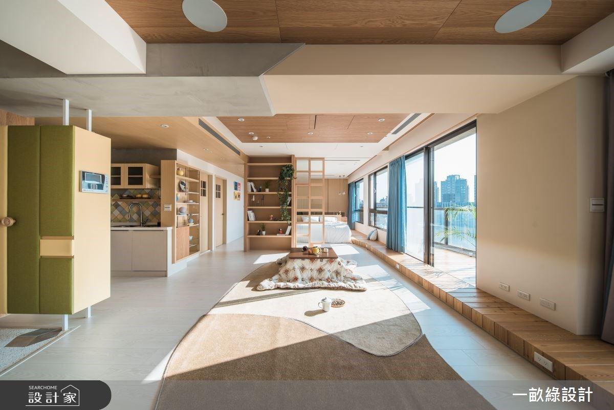 延展 35 坪居家極限!專屬於你的空間大平面