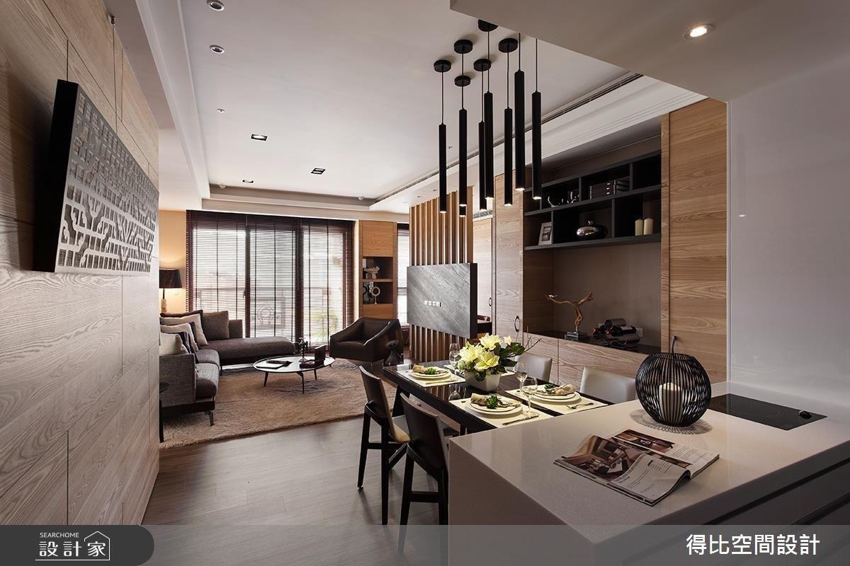 平凡的建材,不凡的度假風情!玄關櫃、中島廚房延伸至主臥的休閒自然
