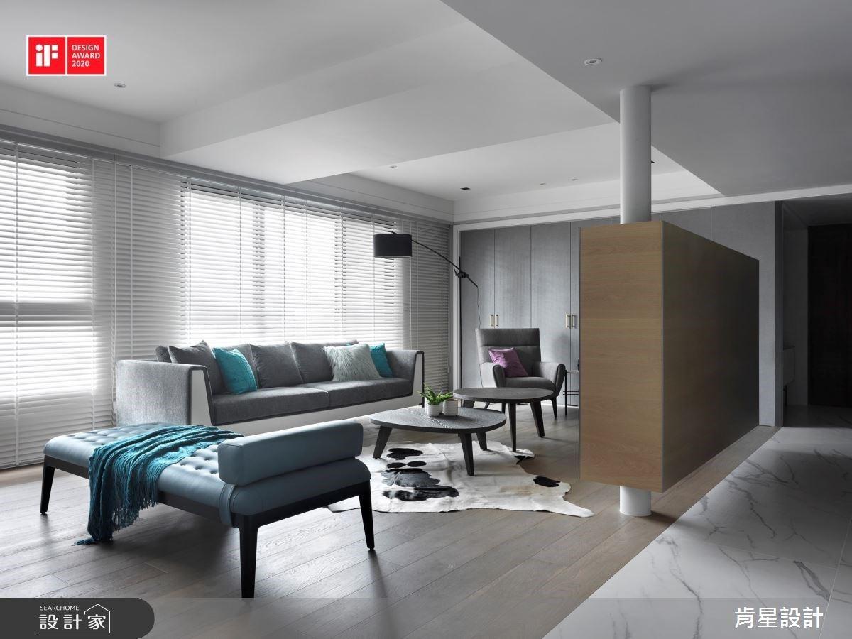 「懸空創意」、「玻璃拉門」喚出舒適生活感!新銳室內設計師獲 2020 iF 國際大獎肯定