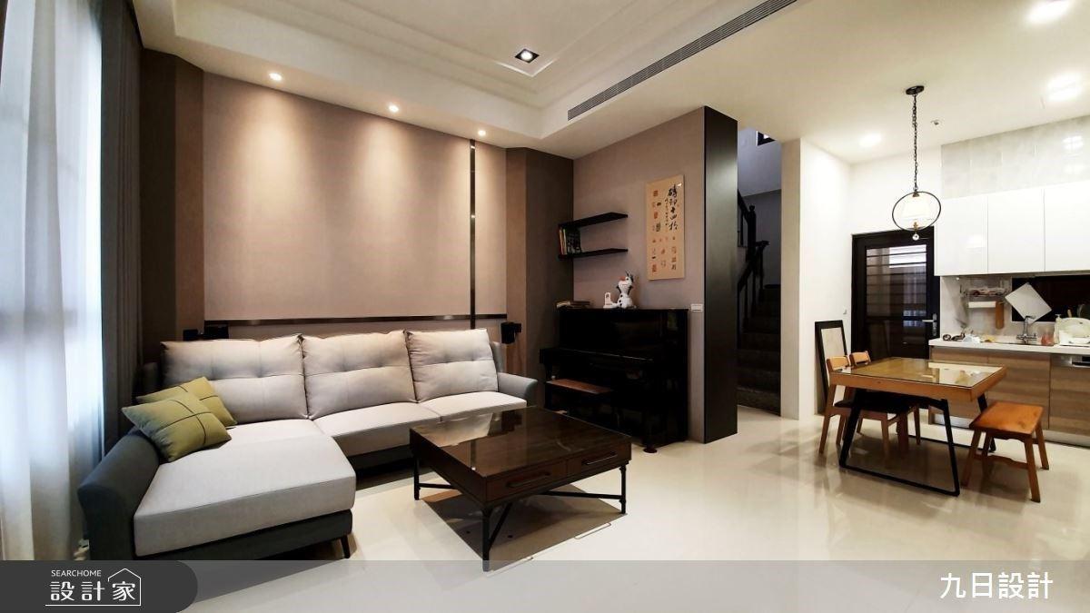 藍色臥房+質感客廳!混搭風住宅打造美好日常