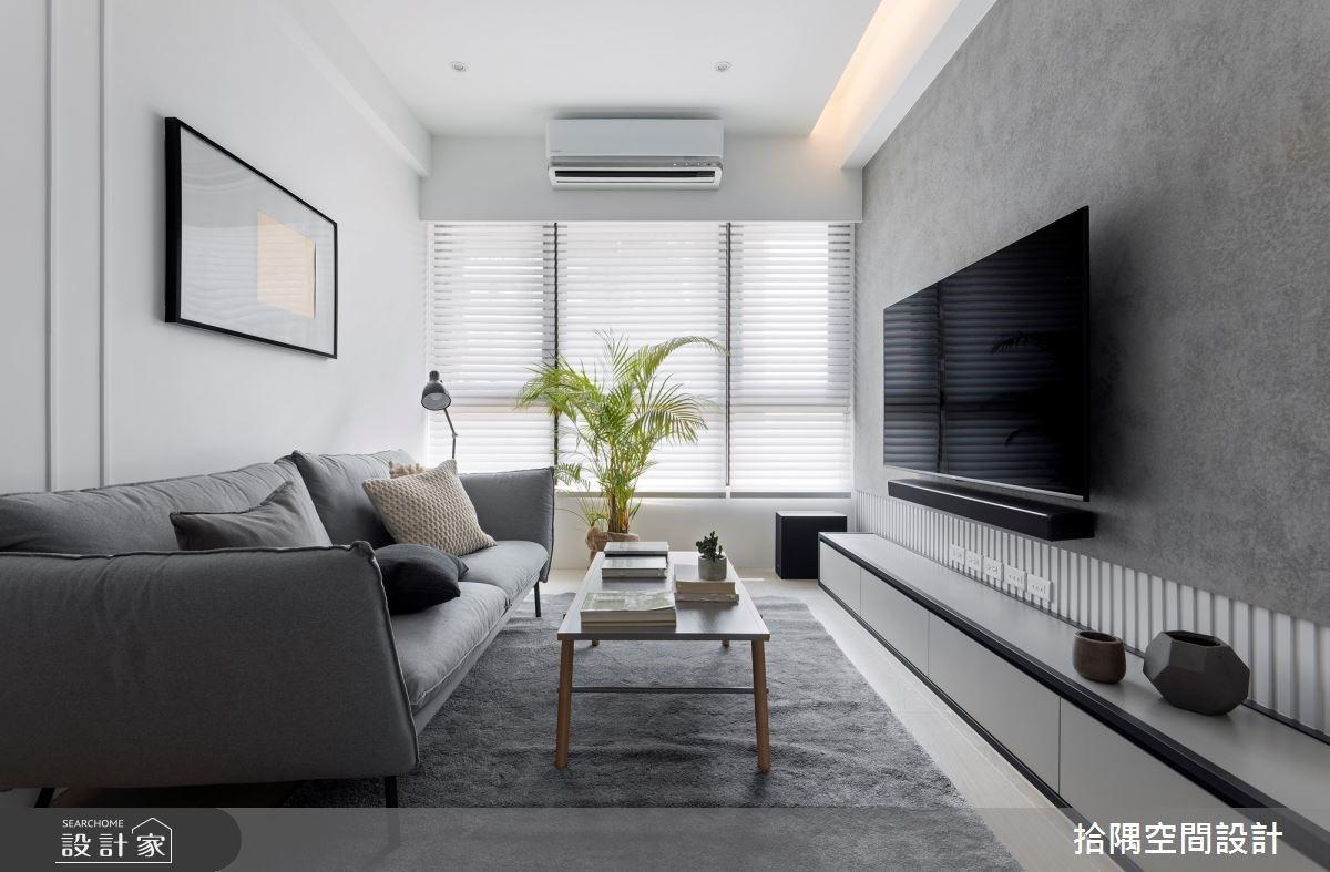 18坪也能享有3房2廳!混搭樸實與療癒力量的男性優質私宅