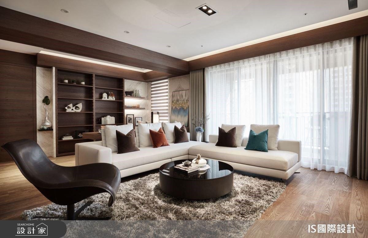 高端奢華質感宅!梧桐木、大理石優雅相遇,成就 43 坪五星級飯店式居家