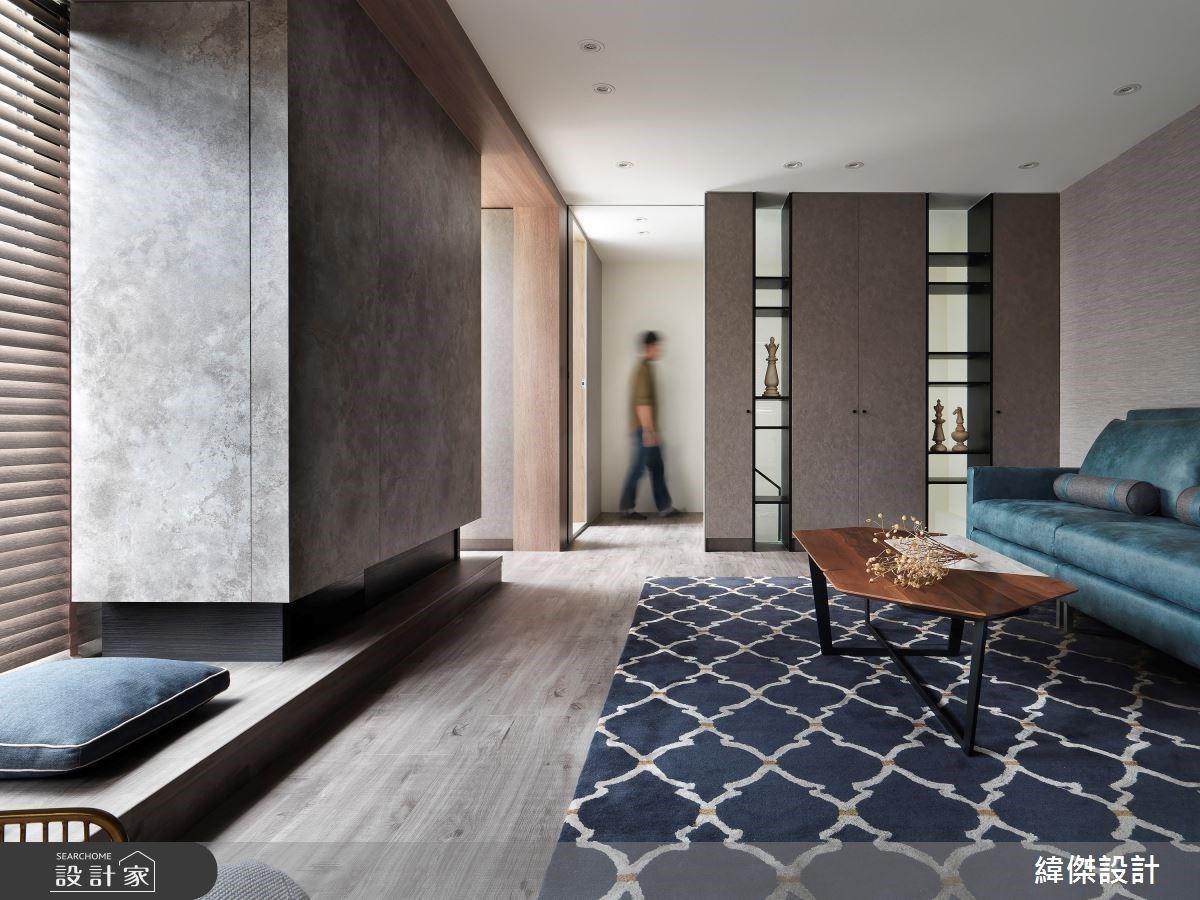 日光臥榻 + 木質感天花板,老屋改造變低彩度自然系美宅